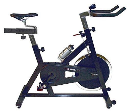 Finnlo Fitnessgerät Indoor Cycle Speedbike Ergometer schwarz chr