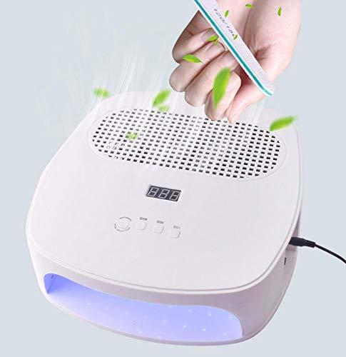 Phototerapia intelligente Rimozione polvere Due in uno Asciugacapelli Macchina 42 Perline lampada Ventilatore doppio 120W Macchina per cottura sottovuoto per unghie