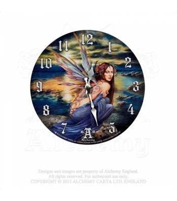 Orologio da parete Sylundine by Alchemy statuetta elfo fata Fairy orologio