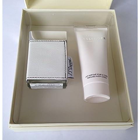ST DUPONT Passenger Gift Set Eau De Parfum 50ml 16fl.oz + body lotion 75ml 2.5fl.oz