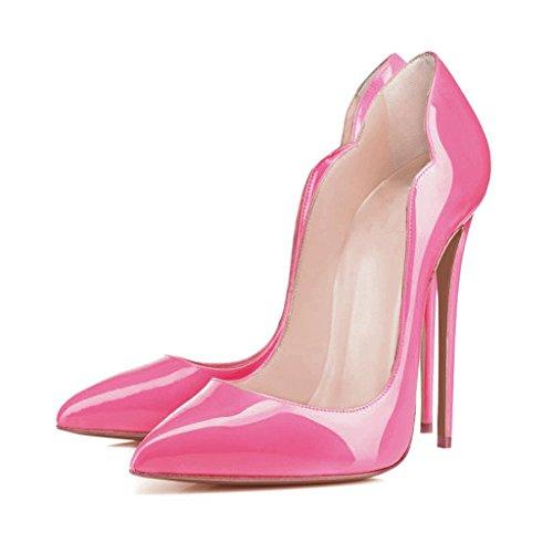 Arc-en-Ciel Damenschuhe Stiletto High Heel Pumps Rosa