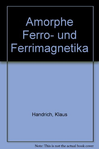 Amorphe Ferro- und Ferrimagnetika