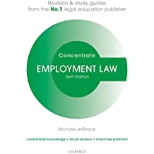 Employment Law Concentrate: Law Revision and Study Guide (English Edition)