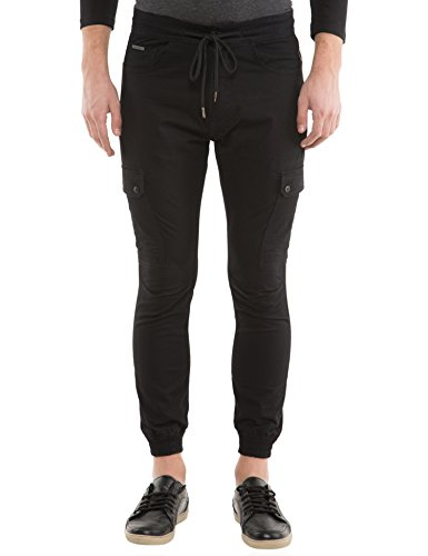 Locomotive Solid Black Pant