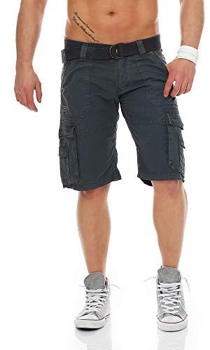 Geographical Norway - Pantalón Corto - para Hombre Azul X-Large