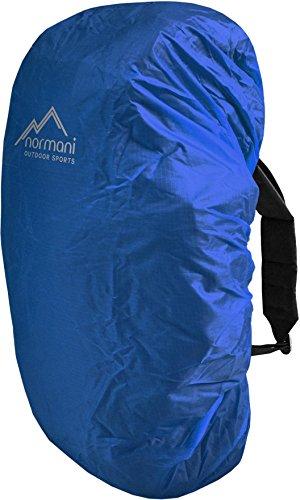 Rucksackcover Regenhülle Regenschutz in verschiedenen Größen Farbe Blau Größe M