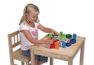 Melissa & Doug - Juego infantil de formas geométricas para encajar (10582) por Melissa&Doug