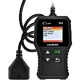 LAUNCH CR319 Code Reader OBD2 para Diagnosis Vehículos Motor Gasolina con Puerto OBD de 16 Pines y Test de Emisiones ITV (Versión Superior a CR3001)
