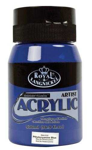 Royal & Langnickel RAA-5112 Essentials Acrylfarbe 500 ml Pthalocaynine Blue