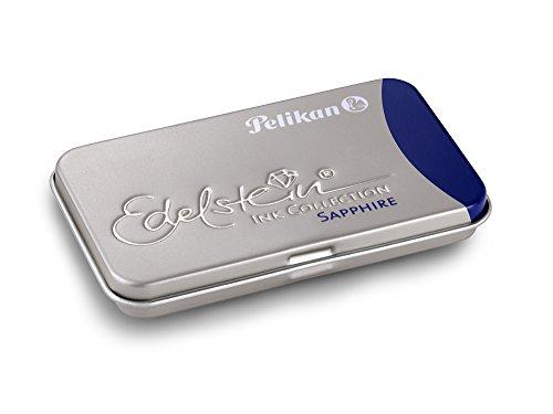 Pelikan GTP Sapphire - Pack de 6 cartuchos de tinta