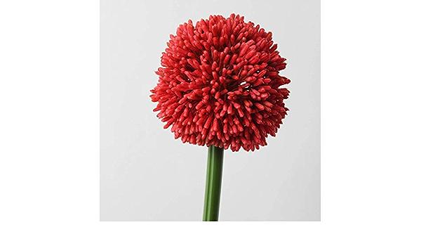 grün-blau 75cm Künstliches Allium ALISSA Ø12cm Deko Zierlauch // Kunst Blume