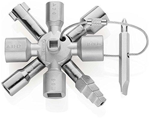 Knipex Llave para Armarios 001101 Acero inoxidable