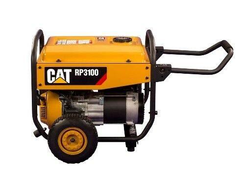Stromerzeuger BENZINA CAT CATERPILLAR RP3100 3100W AVR START/STOP LED 12V