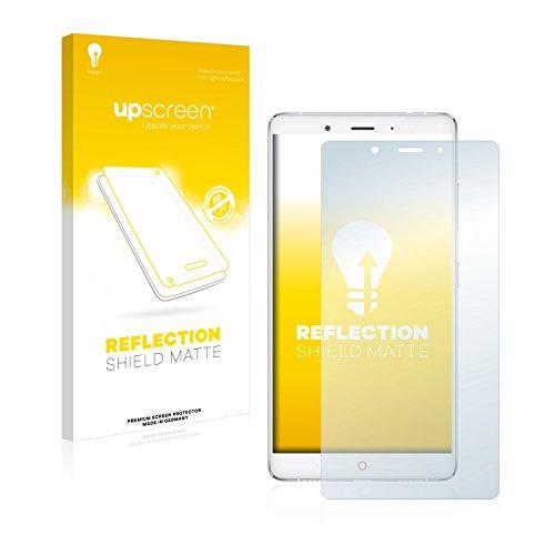 upscreen Entspiegelungs-Schutzfolie kompatibel mit ZTE Nubia Z11 Max - Anti-Reflex Bildschirmschutz-Folie Matt