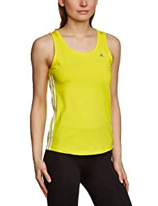 adidas Climacool Training Core 3S Women's Vest Top Yellow vivid yellow s13/white Size:XS