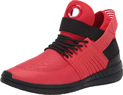 n Sneaker Red Black - 7 UK ()
