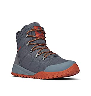 Columbia Men's Fairbanks Omni-Heat Winter Boot, Grey (Graphite, Dark), 10.5 UK 44.5 EU (B0787GJ345)   Amazon price tracker / tracking, Amazon price history charts, Amazon price watches, Amazon price drop alerts