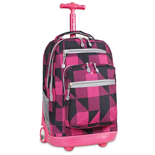 j-world-new-york-sundance-rolling-backpack-block-pink-one-size