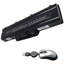 Amsahr ZD7000-11 12 Cell 6600 mAh Batería de repuesto para HP ZD7000, ZD7001EA, ZD7001US, ZD7005EA, ZD7005qv