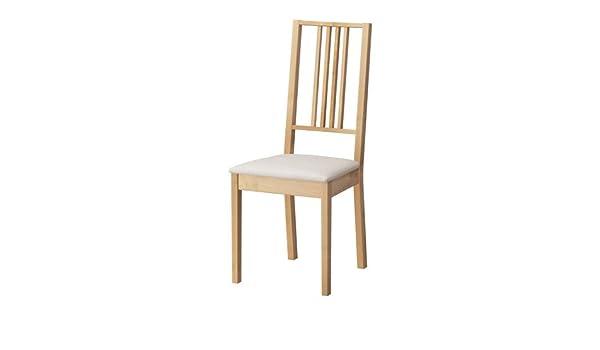IKEA BORJE Chair, birch, Kungsvik sand: Amazon.co.uk