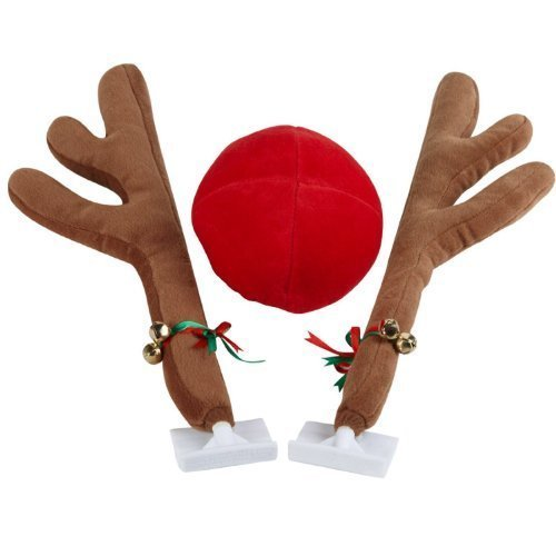 28-cm-plush-rudolf-the-reindeer-antlers-and-red-nose-car-set-christmas-festive-accessory