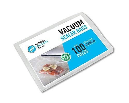Vakuumier Beutel | 100 Folienbeutel 25x35 cm | für meisten Vakuumierer geeignetes Zubehör | in verschiedenen Gröβen erhältlich