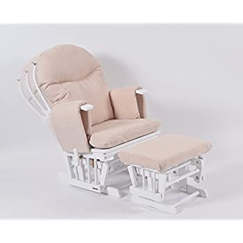 Habebe Glider Rocking Nursing Maternity Breastfeeding Recliner Chair