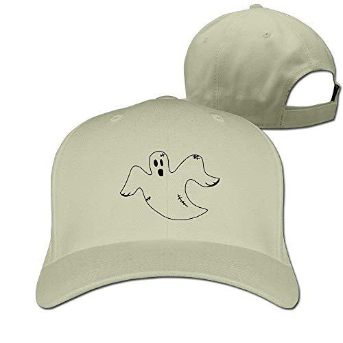 Halloween Flying Ghost Fashion Pure Color Baseball Caps Unisex (Snap Apple Halloween)