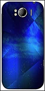 Snoogg Abstract Cosmos Background Designer Protective Back Case Cover For HTC Sensation Xl