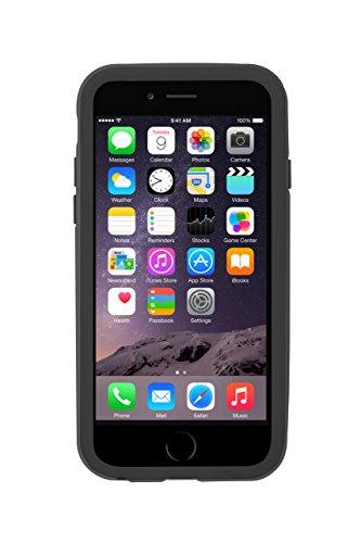 Ozaki OC567BK Shock Band zweifarbiger stoßabsorbierender Bumper für Apple iPhone 6 / 6S schwarz/grau schwarz/grau