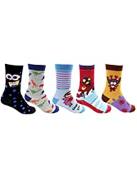 RC. ROYAL CLASS Full Length Soft Cotton Unisex Socks - Pack of 5 Pairs