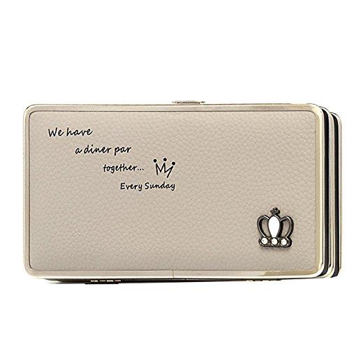Portafogli da Donna Borsa con Foglia d'albero, Sunroyal Multifunzionale [Grande capacità] Smartphone Wristlet Custodia Case Cover per Sony Xperia XA1, Sony xperia x compact, Sony xperia xz premium, So Modello 27