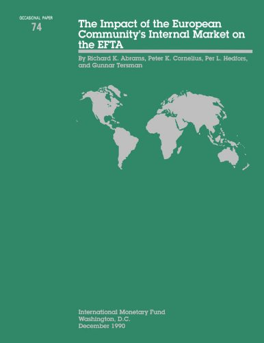 The Impact of the European Community's internal Market on the EFTA (International Monetary Fund Occasional Paper) (English Edition) -