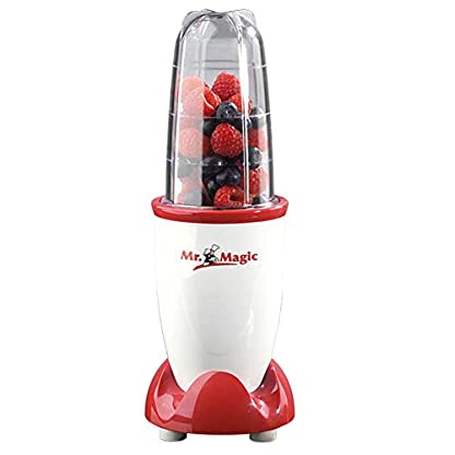 gourmetmaxx-Mr-Magic-Smoothiemaker-Standmixer-250-W-rotwei