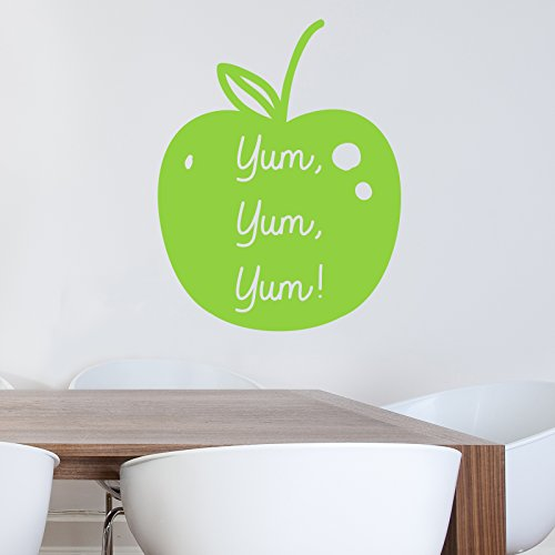 apple-yum-yum-adhesivo-decorativo-para-pared-por-stickerstudio-negro-28-x-35-cm
