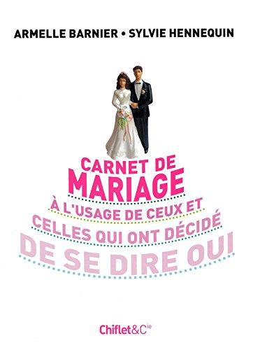 Carnet de mariage par Armelle Barnier
