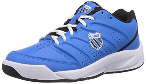 K-Swiss Performance Ks Tfw Ultrascendor Omni Jr-brlnt Blue/Blk/Wht, Chaussures de Tennis mixte enfant Bleu - Blau (BRLNT BLUE/BLK/WHT)