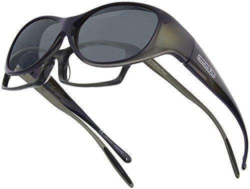 Fitovers Eyewear Sonnenbrille kiata/nagari, Damen, KA003, Olive Charcoal, M