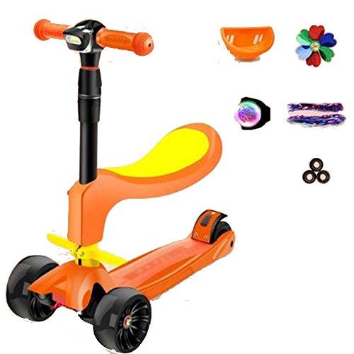 NAN Micro Scooter -Scooter Mini Micro 3 In 1 4 Rädern ( Farbe : 3 )