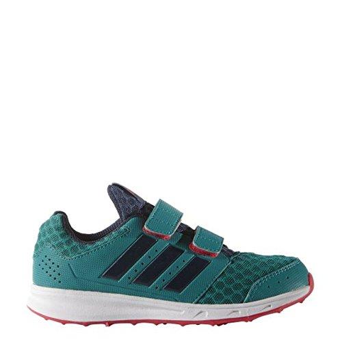 adidas LK Sport 2 CF K, Chaussures de Running Entrainement Unisexe-Bébé Multicolore - Verde / Azul / Rojo (Eqtver / Azumin / Rojimp)