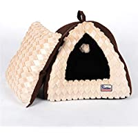 LOVEWO Abnehmbare PET House Kennel Cat Wurf Teddy Short House,40 * 40 * 34CM