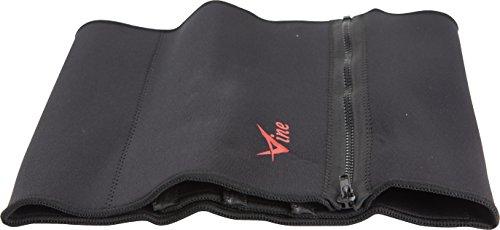 Fitness Taillen Gürtel elastisch einstellbar mit Reißverschluß ajustable Stützgürtel Gewichthebergürtel