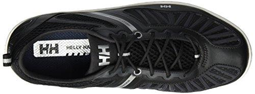 Helly Hansen Herren Hydropower 4 Bootsportschuhe Schwarz (992 Jet Black / Silver / OFF W)