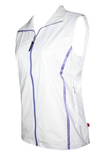 Schneider Sportswear Damen Weste weiß Weiß/Lila