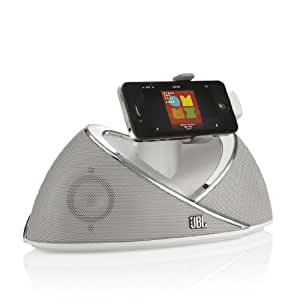 JBL On Beat Sounddock für iPad/iPhone/iPod Dock weiß