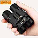 Flipco 30x60 Roof Prism Binoculars for Adults, HD Professional Binoculars for Bird Watching