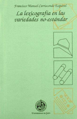 La lexicografía en las variedades no-estándar (Alonso de Bonilla)