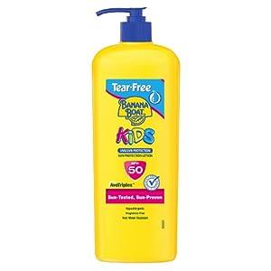 Banana Boat Kids – Loción de protección solar antidesgarros con SPF 50 360 ml