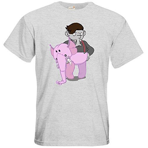 getshirts - Daedalic Official Merchandise - T-Shirt - Deponia Kugo Ash