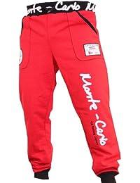 Herren Sporthose Jogginghose Trainingshose für Damen und Herren mit aufdruck am Hosenbein